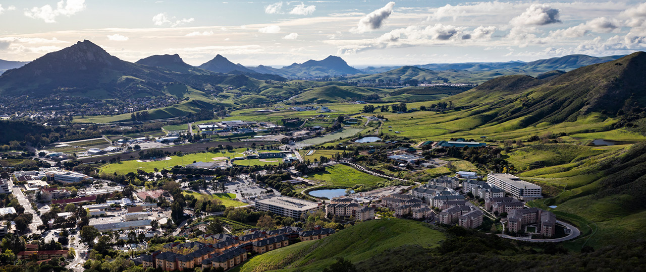 Panoramic Shot of Cal Poly's Campus