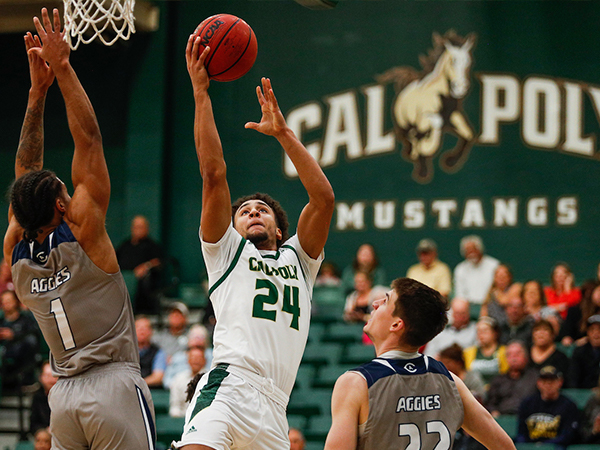 Cal Poly Basketball Player