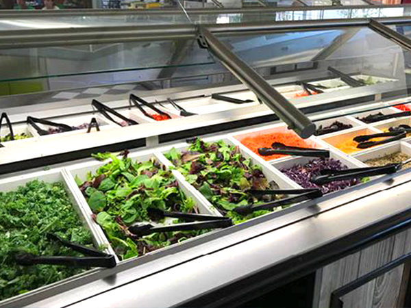 Dining Hall Salad Bar