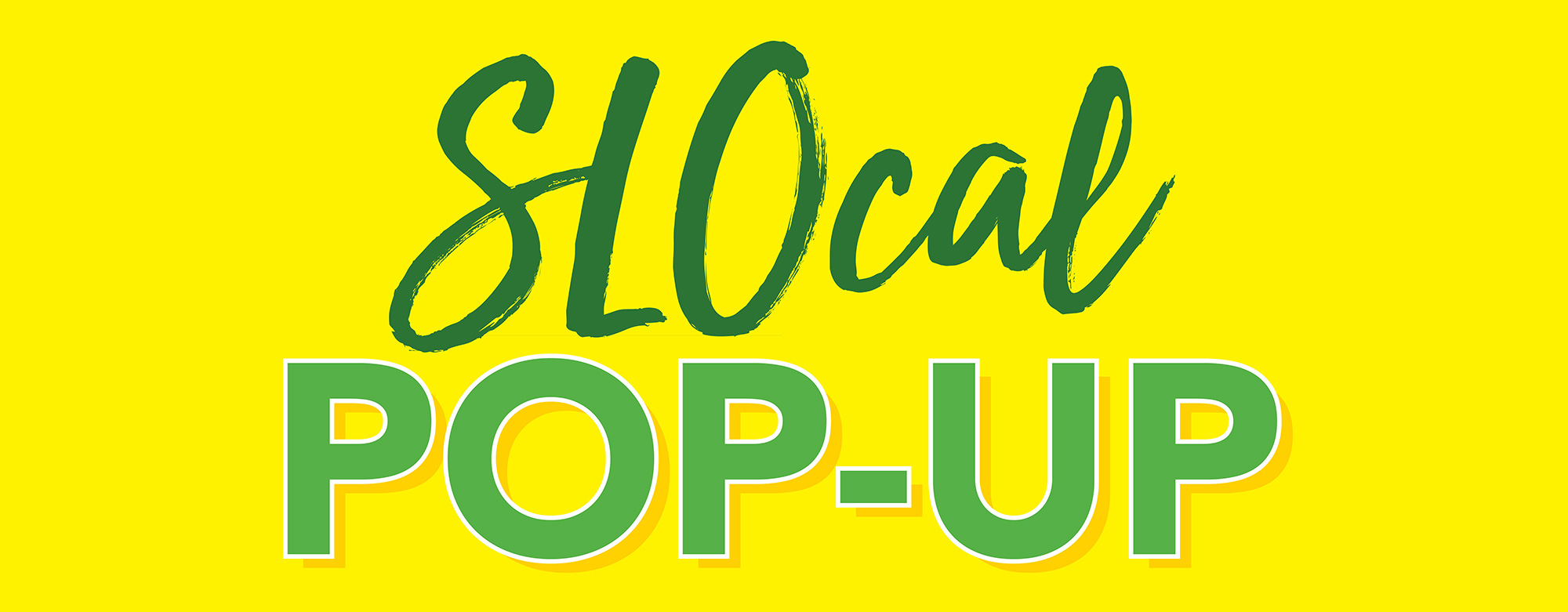 SLOcal Pop-Ups