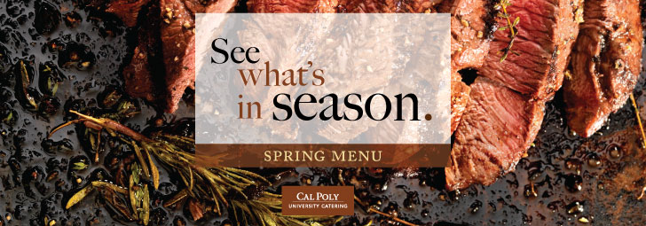 Spring Seasonal Menu
